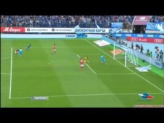 Чемпионат России 2012/2013 | Зенит - Спартак (5-0) (1-0) Канунников, Максим